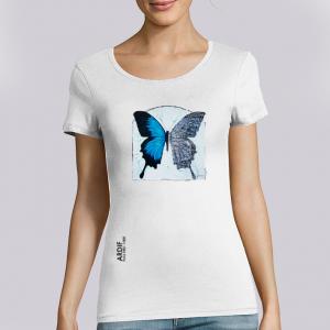 T-shirt femme Ardif : Butterfly mechanimal big