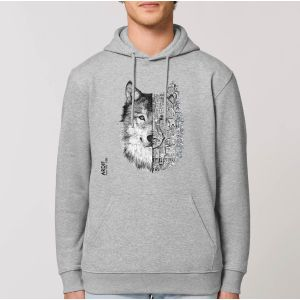 Sweat Homme Ardif : Wolf mechanimal big