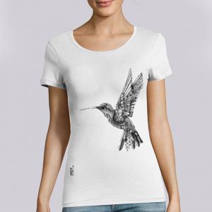 T-shirt femme Ardif : Hummingbird mechanimal  big