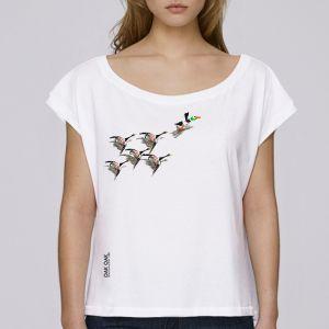 T-shirt femme Oak Oak : 200 years of birds big