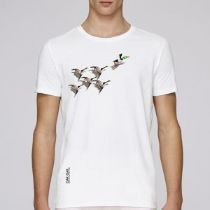 T-shirt homme Oak Oak : 200 years of birds big