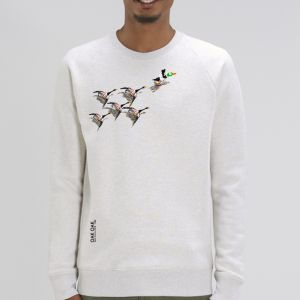 Sweat Homme Oak Oak : 200 years of birds big