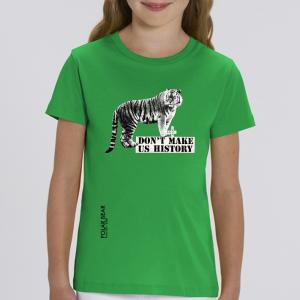 T-shirt enfant Polar Bear : Tigre don't make us history big