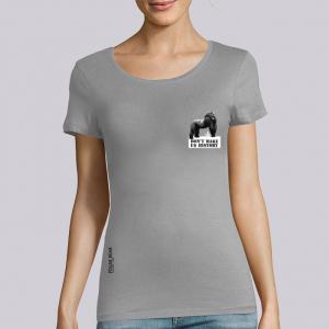 T-shirt femme Polar Bear : Gorille don't make us history small