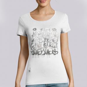 T-shirt femme 1UP : keep smiling big