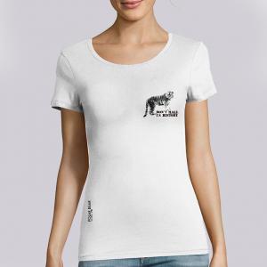 T-shirt femme Polar Bear : Tigre don't make us history small