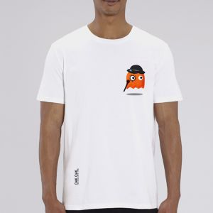 T-shirt homme Oak Oak : Orange Ghost Revenge small