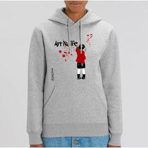 Sweat Femme Polar Bear : art is life big