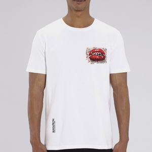 T-shirt homme Makatron : Ciggy lips small