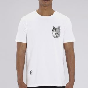 T-shirt homme Ardif : Wolf mechanimal small