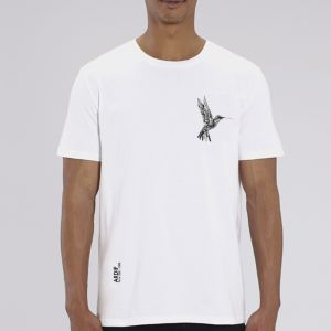 T-shirt homme Ardif : Hummingbird mechanimal  small