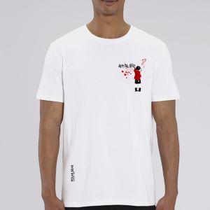 T-shirt homme Polar Bear : art is life small
