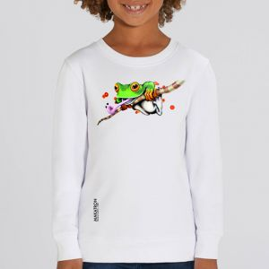 Sweat enfant Makatron : Ash Frog big