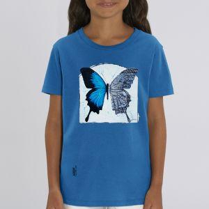 T-shirt enfant Ardif : Butterfly mechanimal big