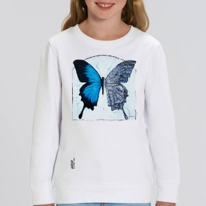 Sweat enfant Ardif : Butterfly Mechanimal big