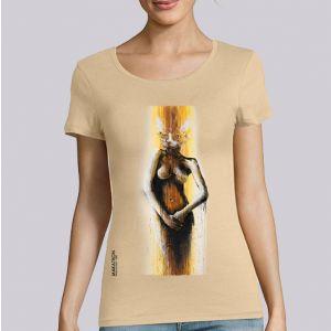 T-shirt femme Makatron : Cat Imaginations big