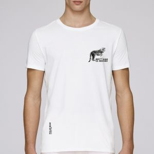 T-shirt homme Polar Bear : Tigre don't make us history small