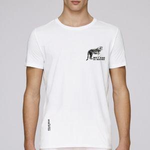 T-shirt homme Polar Bear : Tigre don't make us history small