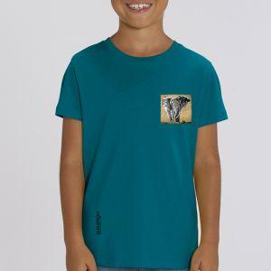 T-shirt enfant Makatron : Elephant warehouse small