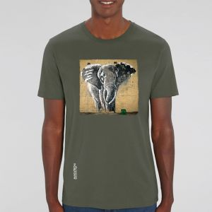 T-shirt homme Makatron : Elephant warehouse big