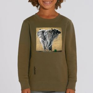Sweat enfant Makatron : Elephant Warehouse big