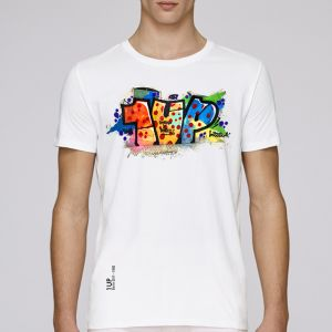 T-shirt homme 1UP : french technique big