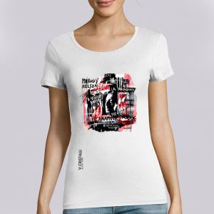 T-shirt Femme VERO CRISTALLI: Gainsbarre big
