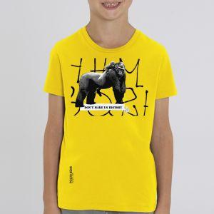 T-shirt enfant Polar Bear : Gorille don't make us history big
