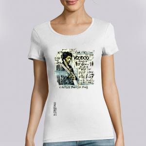 T-shirt Femme VERO CRISTALLI: Hendrix big
