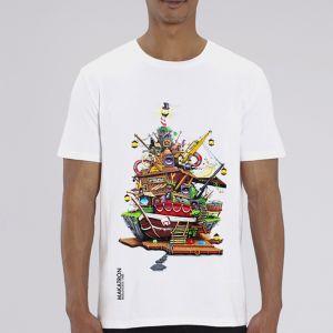 T-shirt homme Makatron : House of fun big