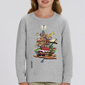 Sweat enfant Makatron : House of Fun big