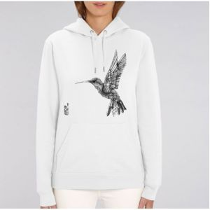 Sweat Femme Ardif : Hummingbird mechanimal  big