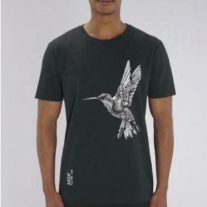 T-shirt homme Ardif : Hummingbird mechanimal  big