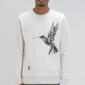 Sweat Homme Ardif : Hummingbird mechanimal  big