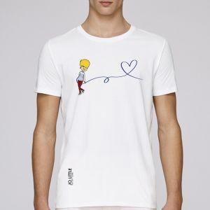 T-shirt homme Jo Little : Jo Love big