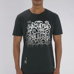 T-shirt homme 1UP : keep smiling big
