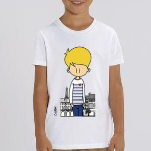 T-shirt enfant Jo Little : Jo Paris big