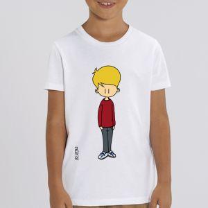 T-shirt enfant Jo Little : Jo Rouge big