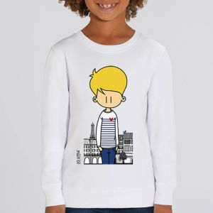 Sweat enfant Jo Little : Jo Paris big