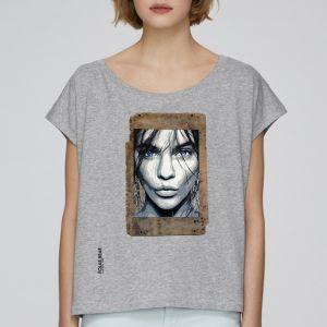 T-shirt femme Polar Bear : Kiss me please big