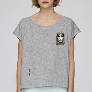 T-shirt femme Polar Bear : Kiss me please small