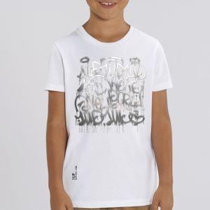 T-shirt enfant 1UP : keep smiling big