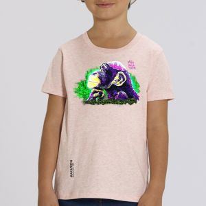 T-shirt enfant Makatron : Monkey Brains big