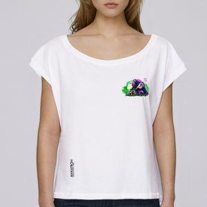 T-shirt femme Makatron : Monkey Brains small