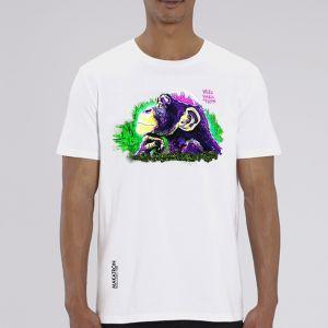 T-shirt homme Makatron : Monkey Brains big
