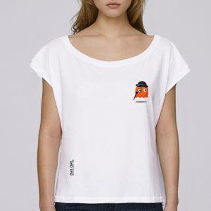 T-shirt femme Oak Oak : Orange Ghost Revenge small