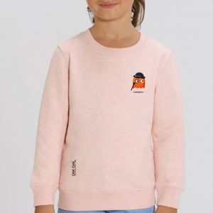 Sweat enfant Oak Oak : Orange Ghost Revenge small