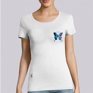 T-shirt femme Ardif : Butterfly mechanimal small