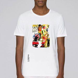 T-shirt Homme VERO CRISTALLI: Pin Up big
