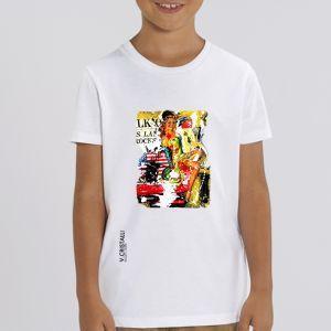 T-shirt Enfant VERO CRISTALLI: Pin Up big